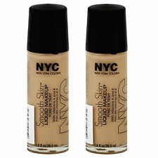 (2 Pack) NYC New York Color Smooth Skin Liquid Makeup, WARM BEIGE - 682
