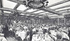 Postcard PA Chrome Drawing Royal Oak Dining Room Ben Gross Restaurant Large