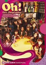 SNSD GIRLS' GENERATION [OH] 2nd Album CD+Photo Book+Photo Card K-POP SEALED