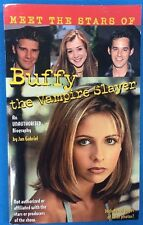 Meet The Stars Of Buffy The Vampire Slayer J Gabriel (1998) Scholastic illust pb