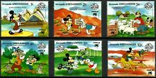 DISNEY STAMPS, GRENADA GRENADINES, YEAR 1988, MNH, LOT 7