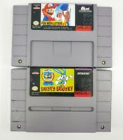 Mario's Early Years: Fun With Letters Super, Tiny Toon Adventures: Nintendo Snes