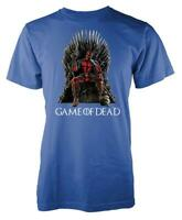Game Of Thrones Deadpool Game Of Dead Mashup Adult T Shirt