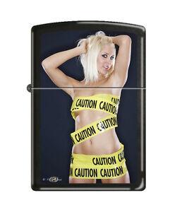 Zippo Lighter Sexy Girl Georgie Otoka by Tony Read Caution