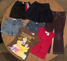 Lot of Children's Clothing Girls Size 5/6 Pants Shorts T-Shirt Skort