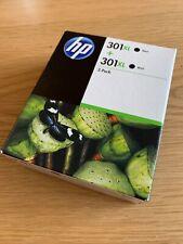 HP 301 XL Cartuccia di Inchiostro Nero - 2 confezione (nuovo/sigillato)