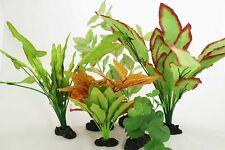 Aquarium Plants for Plastic Tank Silk COMBO B(9)