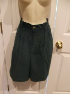 NEW IN PKG  J.ANDREWS GREEN CORDUROY bermuda culotte Shorts size  13/14