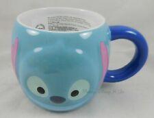 Genuine Disney Store Exclusive Tsum Tsum Lilo & Stitch Ceramic Mug Coffee Cup