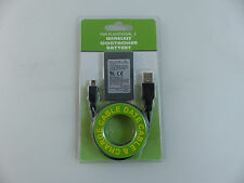 Akku für Sony PS3 Wireless Controller 2000mAh inkl.Ladekabel Batterie Ersatzakku
