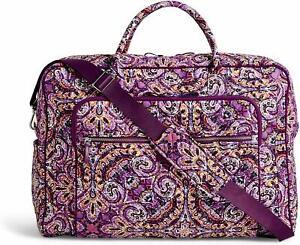 NEW Vera Bradley DREAM TAPESTRY Iconic GRAND Weekender Travel Bag  $140.00.