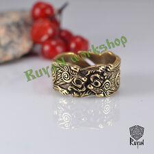 Odin Wolves ring Fenrir Ring Wolf ring Viking ring Viking Jewelry Vikings pagan
