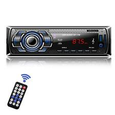 Car Stereo Receiver Bluetooth Din Radio MP3 Player AUX Audio FM Receiver UK Post