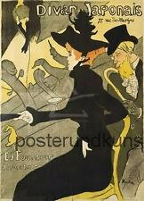 DIVAN JAPONAIS  Plakatkunst Großes Poster 84x60cm