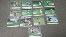 13 Different LPGA Autographed Upper Deck 8 x 10 Photo Cards
