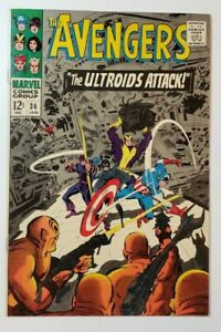 Avengers #36 FN- 5.5 Quicksilver & Scarlet Witch Return! Thomas & Heck!