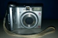 Canon PowerShot A540 6.0MP Digital Camera  UNTESTED STORAGE UNIT FIND