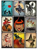 Witches Brew Halloween Glossy Finish Card Making Topper Craft  Embellishment