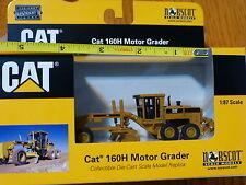 Norscot 1:87 Scale #55127 Cat 160H Motor Grader (Die Cast Metal Replica)