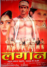 LAGAAN : ONCE UPON A TIME IN INDIA  BOLLYWOOD POSTER # 4 AAMIR KHAN
