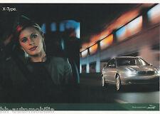Jaguar X Type Postkarte Ansichtskarte 2001 picture post card Nr 2 Auto PKWs car