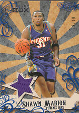 2006/7 Topps Luxury Box jersey card Shawn Marion 43/49