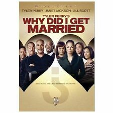 Tyler Perry's Why Did I Get Married? (DVD, 2008, Widescreen) - NEW!!