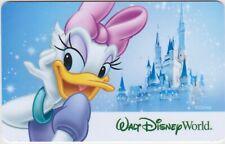Walt Disney World WDW Daisy Duck Cinderella's Castle 2018 Gift Card Collectible