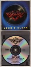 SIGNAL: LOUD & CLEAR CD MARK FREE KING KOBRA UNRULY CHILD AOR ROCK OUT OF PRINT
