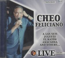 CHEO FELICIANO Live Concert Series CD New Sealed