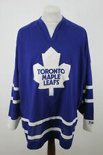 More details for ccm toronto maple leafs jersey size xxl