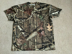 NEW Russell Outdoors Realtree Infinity Camo Polyester T-shirt XL Base Layer NWOT