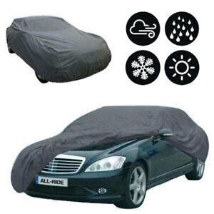 Heavy Duty Waterproof Full Car Cover Rain Snow UV Protection Outdoor Breathable