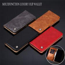 For LG Velvet 5G Luxury Business Leather Wallet Flip Phone Kickstand Cover Case