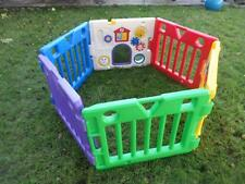 Todays Kids Play Yard 6 Panels 1 Peg Most Accessories Playpen Fun