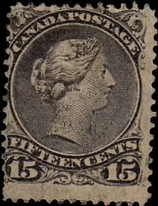 Canada 1868-76; Sc29 perf12x12, MNG; ScCat$65for $4.50
