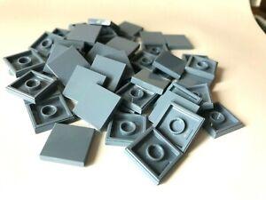 LEGO ®  50 Fliesen 2x2 in  sand blau ( sand blue ), NEUWARE