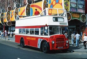 Blackpool Transport 532 DHC784E Leyland PD2 East Lancashire Open Top Bus Photo