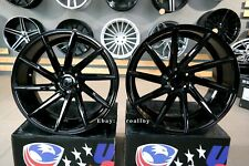 New 20 inch 5x112 CVT STYLE BLACK stance wheels for MERCEDES BMW G SERIES rims