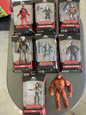 Marvel Legends Lot Deadpool Sasquatch BAF Wave Hasbro Figures Domino Nee