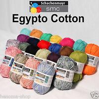 """50g (5.50€/100g) Schachenmayr """" EGYPTO COTTON """" 100% Baby Baumwolle 180m Wolle"""