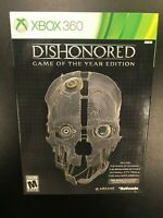 Dishonored Game of the Year Edition Xbox 360 Brand New Sealed CIB w/ Sleeve GOTY