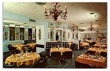 1950s/60s Kenwood Golf & Country Club Terrace Dining Room, Bethesda, MD Postcard