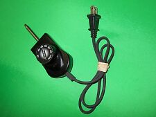 Presto Control Power Cord 1500 Watts Model 0690005 China Black FREE SHIP