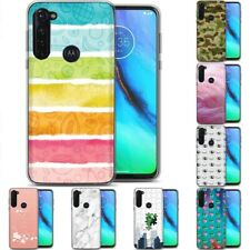 TPU Phone Case for Motorola G Stylus,G7 Play,Power,Plus,Wallpaper Cute Print