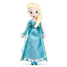 "Disney Store Frozen 20"" inches Elsa Plush Soft Doll - BRAND NEW"