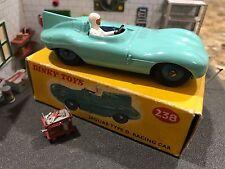 Vintage Dinky Toys / MIB / Jaguar D Type / No. 238