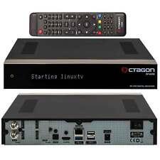 Octagon SF 4008 Triple UHD 4K 2x DVB-S2X Enigma Linux SAT Receiver Twin HDMI