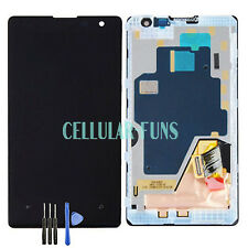 Black For Nokia Lumia 1020 LCD Touch Screen Digitizer Replacement+ Frame UK