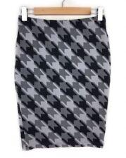 Nylon Above Knee Straight, Pencil Machine Washable Skirts for Women
